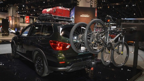Nissan Pathfinder ra mat ban nang cap chuyen offroad hinh anh 5