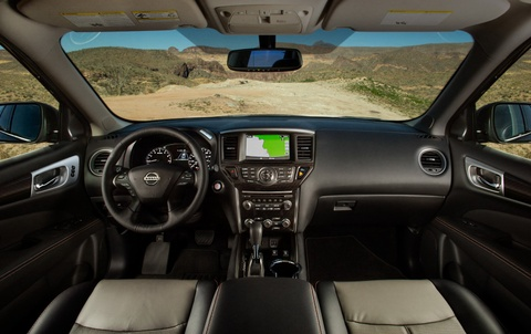 Nissan Pathfinder ra mat ban nang cap chuyen offroad hinh anh 8