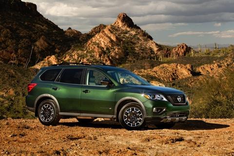 Nissan Pathfinder ra mat ban nang cap chuyen offroad hinh anh 1