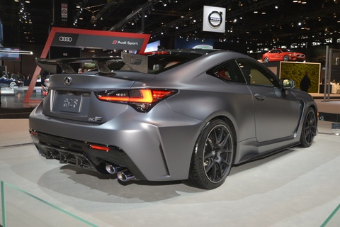 Lexus RC F Track Edition 2020 co dong co 5.0L, BMW M4 nen de chung hinh anh 4