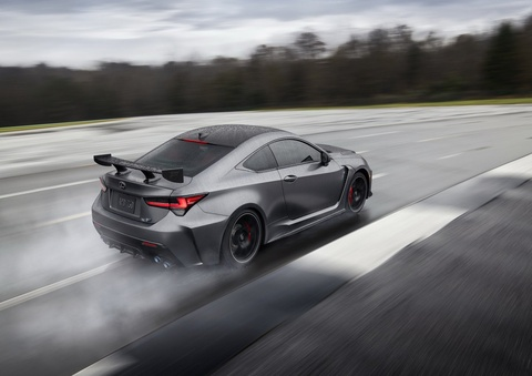 Lexus RC F Track Edition 2020 co dong co 5.0L, BMW M4 nen de chung hinh anh 8
