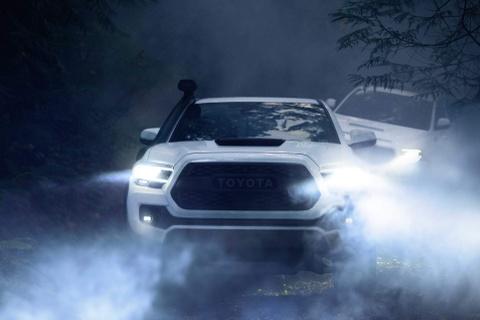 Toyota Tacoma 2020 ra mat, nang cap ngoai hinh va cong nghe hinh anh 2