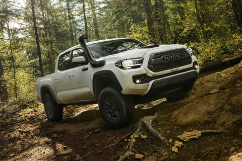 Toyota Tacoma 2020 ra mat, nang cap ngoai hinh va cong nghe hinh anh 9