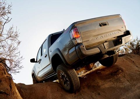 Toyota Tacoma 2020 ra mat, nang cap ngoai hinh va cong nghe hinh anh 10