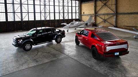 Khi ban tai hang nang Ford F-150 ket hop voi 'ngua hoang' Mustang hinh anh