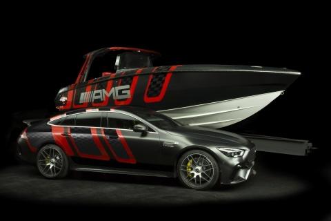 Thuyền cao tốc của Mercedes-AMG mạnh 1.600 mã lực
