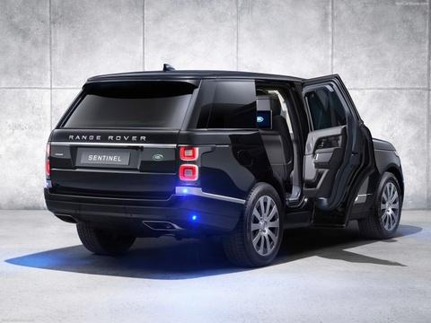 SUV chong dan Range Rover Sentinel 2019, 'vu khi' cua dai gia hinh anh 10