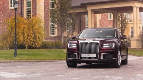 Limousine cua ong Putin co ban thuong mai, doi thu cua Rolls-Royce hinh anh 12