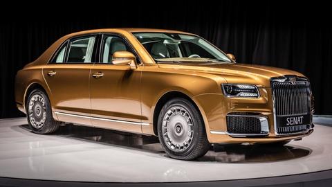 Limousine cua ong Putin co ban thuong mai, doi thu cua Rolls-Royce hinh anh 1