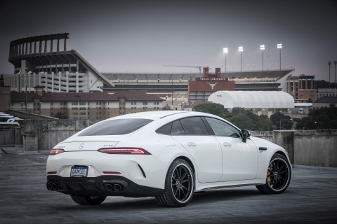 Coupe 4 cua Mercedes-AMG GT ra mat ban 'gia re' 100.000 USD hinh anh 4
