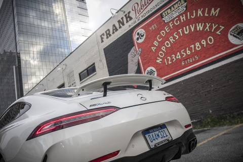 Coupe 4 cua Mercedes-AMG GT ra mat ban 'gia re' 100.000 USD hinh anh 6