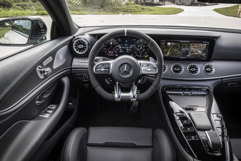 Coupe 4 cua Mercedes-AMG GT ra mat ban 'gia re' 100.000 USD hinh anh 7