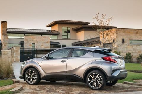 Crossover co nho Toyota C-HR 2019 co gia tu 21.000 USD hinh anh 2