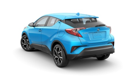 Crossover co nho Toyota C-HR 2019 co gia tu 21.000 USD hinh anh 3