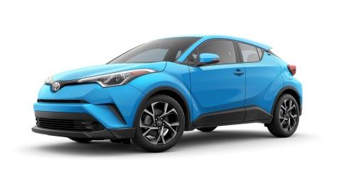 Crossover co nho Toyota C-HR 2019 co gia tu 21.000 USD hinh anh 1