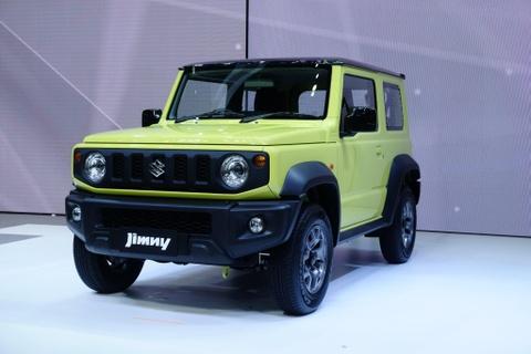 Suzuki Jimny den Thai Lan, dat gap doi chau Au, chua hen ngay ve VN hinh anh 1