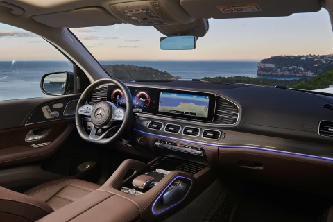 Mercedes-Benz GLS 2020 ra mat, loi dap tra cho BMW X7 hinh anh 8