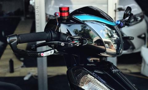 Honda Lead phien ban 'vua ninja' cua biker Ca Mau ton them 100 trieu hinh anh 3