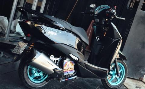 Honda Lead phien ban 'vua ninja' cua biker Ca Mau ton them 100 trieu hinh anh 2