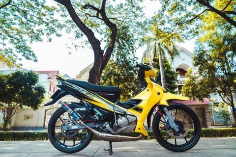 Yamaha 125ZR do tri gia hon 350 trieu cua biker Dong Nai hinh anh 2