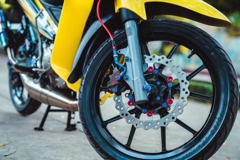 Yamaha 125ZR do tri gia hon 350 trieu cua biker Dong Nai hinh anh 4