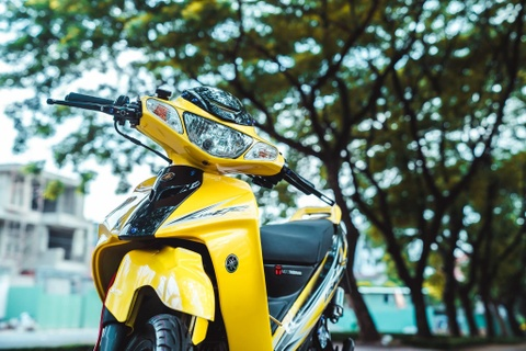 Yamaha 125ZR do tri gia hon 350 trieu cua biker Dong Nai hinh anh 8
