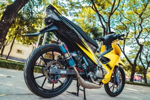 Yamaha 125ZR do tri gia hon 350 trieu cua biker Dong Nai hinh anh 9