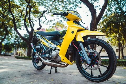 Yamaha 125ZR do tri gia hon 350 trieu cua biker Dong Nai hinh anh 1