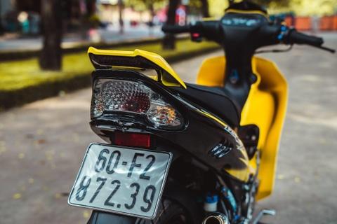 Yamaha 125ZR do tri gia hon 350 trieu cua biker Dong Nai hinh anh 10