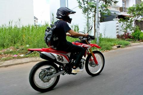 Danh gia Honda CRF150L - cao cao cho nguoi moi, khong danh cho di pho hinh anh 8