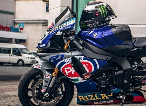 Yamaha R1 do phong cach xe dua tai Sai Gon hinh anh 4