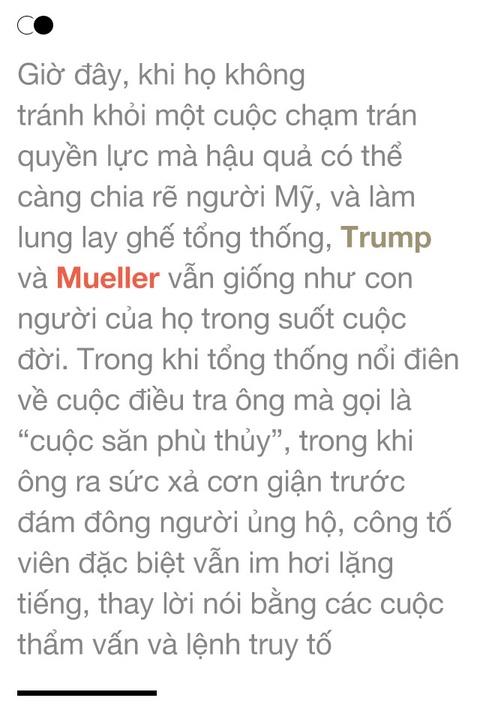 Trump vs. Mueller: Xuat than quy toc, dinh menh doi dau hinh anh 19