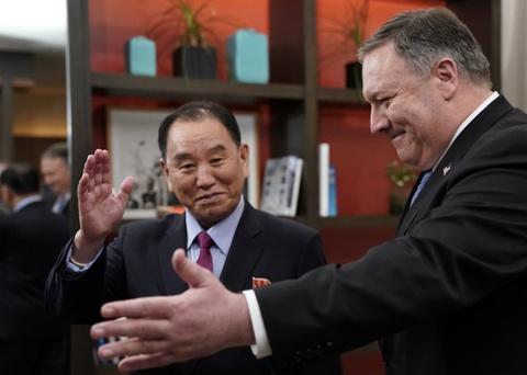 Mỹ, Triều đàm phán tỉ mỉ chỗ ngồi, bước đi ở cuộc gặp Trump-Kim lần 1