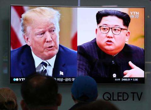 My, Trieu dam phan ti mi cho ngoi, buoc di o cuoc gap Trump-Kim lan 1 hinh anh 4