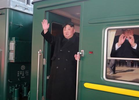 Triều Tiên xác nhận ông Kim Jong Un đến Việt Nam bằng tàu bọc thép