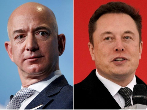 Jeff Bezos, Elon Musk cham choc phien ban dinh cu vu tru cua nhau hinh anh 2