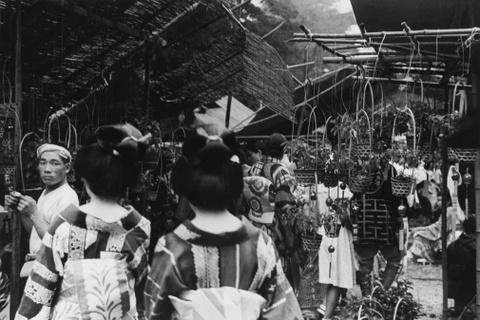 Geisha o cho hoa, nguoi dep tren bien - anh hiem ve Tokyo xua hinh anh 4