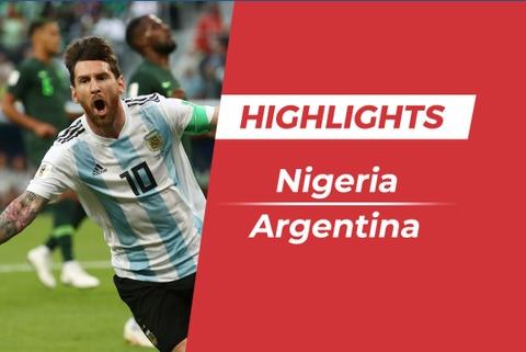 Highlights Nigeria 1-2 Argentina: Sao MU toa sang cuu Argentina hinh anh