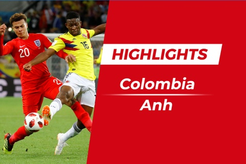 Highlights Colombia 1-1 Anh (pen, 3-4): Loat sut luan luu kich tinh hinh anh