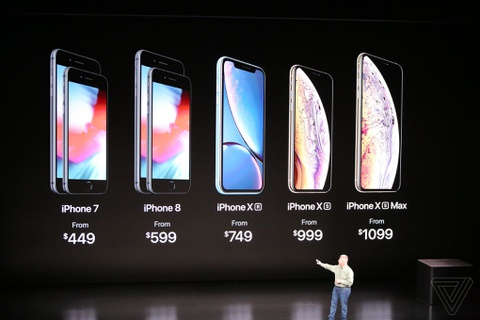 Day la iPhone XS, iPhone XS Max va iPhone XR hinh anh