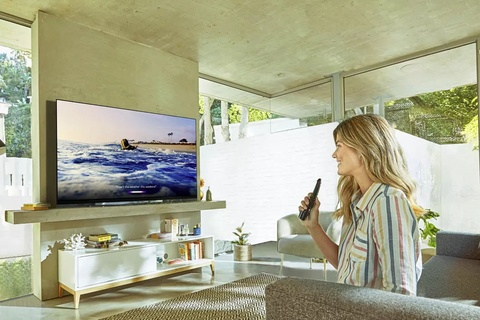 LG mo man CES 2019 voi TV 8K tich hop tro ly ao Alexa hinh anh