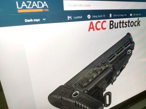Lazada bị 'sờ gáy' vụ rao bán thiết bị lắp ráp súng