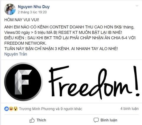 YouTube khong tha, Yeah1 'so tan' cac kenh qua network moi? hinh anh 3