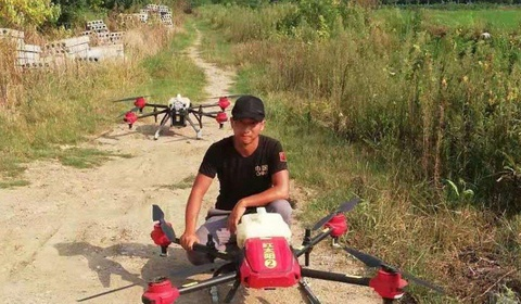 Phi cong lai drone - nghe hot nhat o nong thon Trung Quoc hinh anh 1