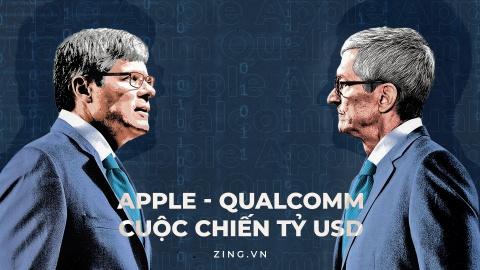 Tuan nay, Apple va Qualcomm buoc vao cuoc chien lon chua tung co hinh anh 2