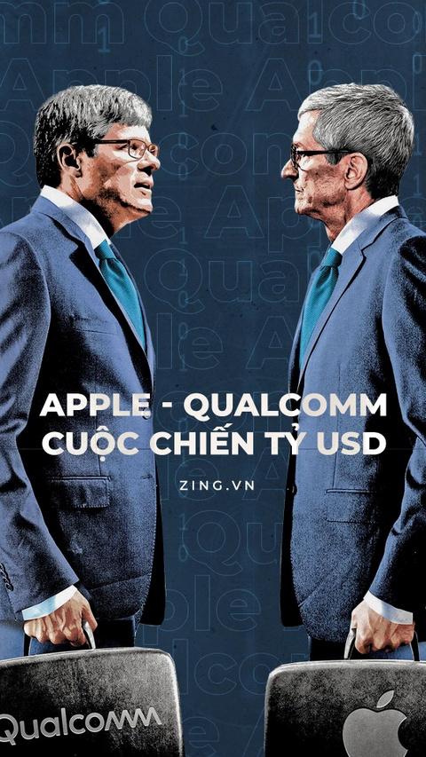 Tuan nay, Apple va Qualcomm buoc vao cuoc chien lon chua tung co hinh anh 1