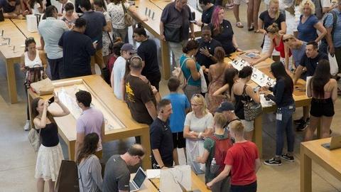 Phep mau da het, Apple Store thanh cai cho nhon nhao hinh anh 4