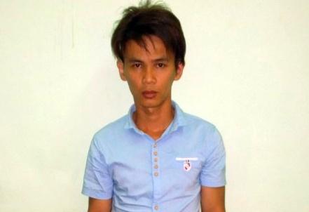 Thanh nien 24 tuoi di cuop dien thoai de lay tien cuoi vo hinh anh