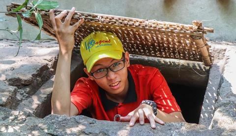 Kham pha dia dao dai 32 km o Quang Nam hinh anh