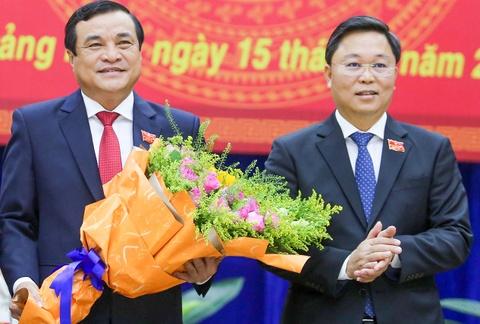 Chu tich UBND Quang Nam Le Tri Thanh tai dac cu hinh anh